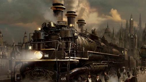 Steam-engine are warming up