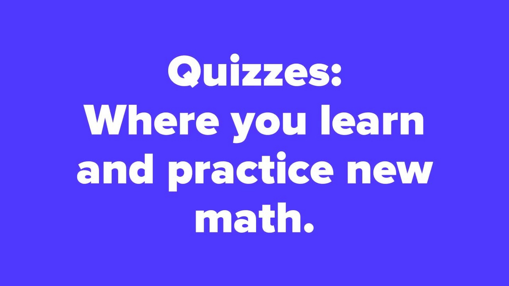 Course Orientation - Quizzes & Desmos Lessons Video