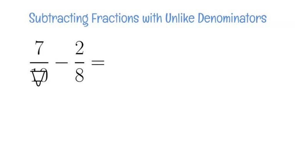 Review - Subracting Fractions with Unlike Denominators.mp4