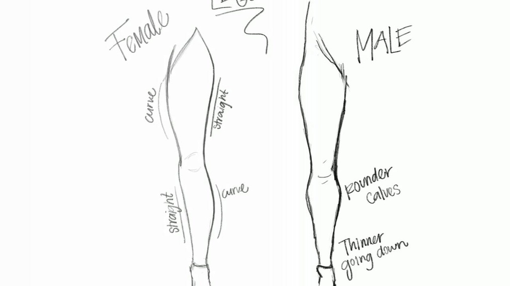 Figure drawing - legs