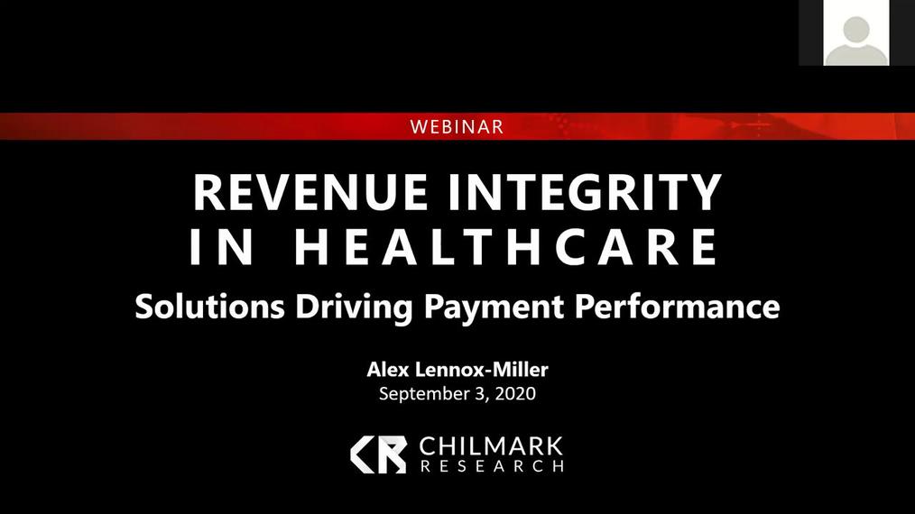 2020 Revenue Integrity in Healthcare Webinar.mp4