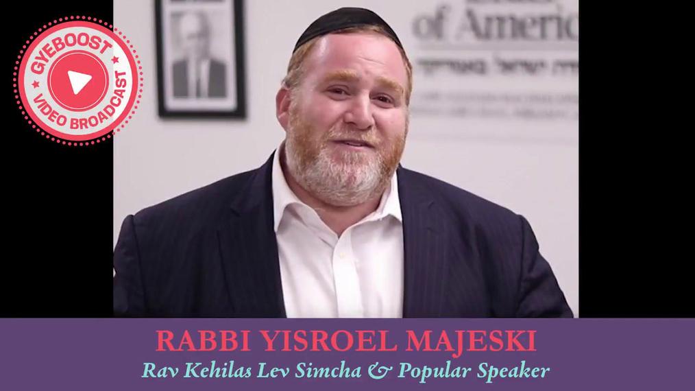 615 - Rabbi Yisrael Majeski - Siete Billones de Personas y Nosotros