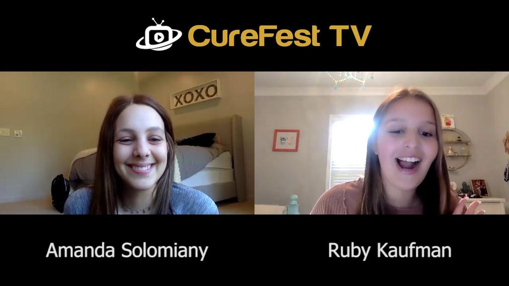Osteosarcoma Survivor Amanda Solomiany Interview by Ruby Kaufman