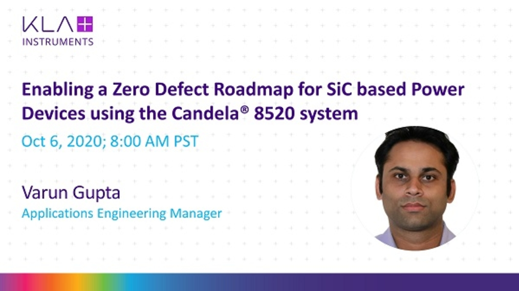 Enabling zero defectivity roadmap for sic based power devices using candela