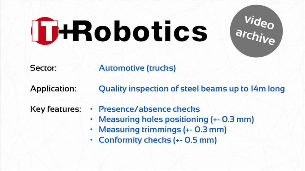 ITR 18116 - Steel beams check