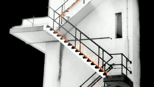 The burning steps