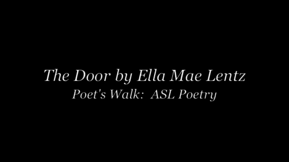 The Door by Ella Mae Lentz.mp4