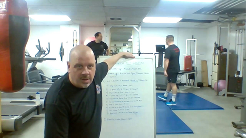 Fitness with Fire 30/3/21