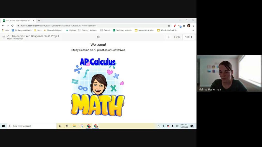 AP Calculus Live Session AP Test Prep