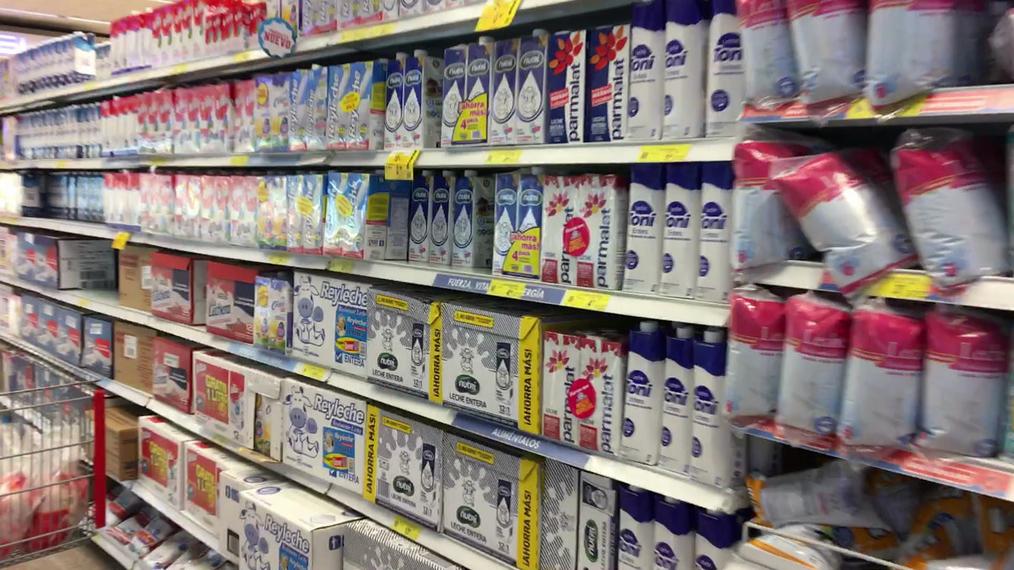 El Supermercado - Leche en cajas y fundas .MOV