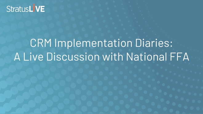 CRM Implementation Diaries: A Live Discussion with National FFA