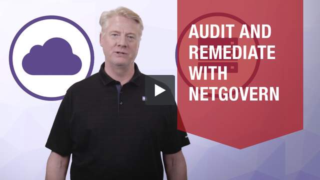 Audit & Remediate video overview