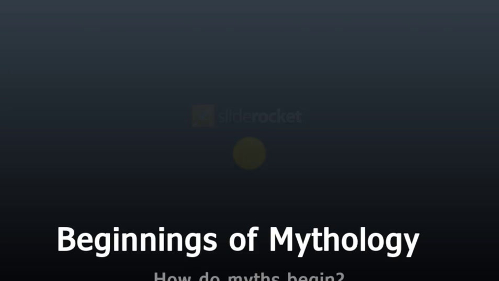 Mythology-Beginnings of Mythology.mp4