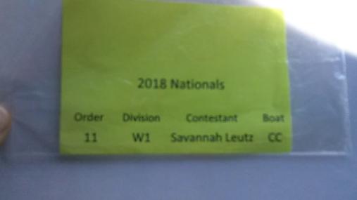 Savannah Leutz W1 Round 1 Pass 1