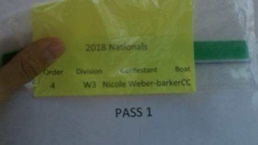 Nicole Weber-barker W3 Round 1 Pass 1