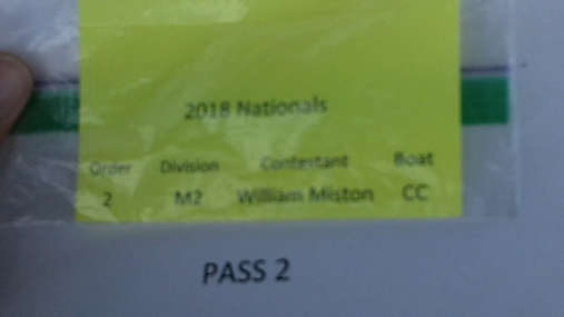 William Miston M2 Round 1 Pass 2