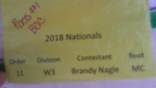 Brandy Nagle W3 Round 1 Pass 1