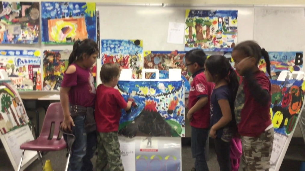 2nd Grade Art Walk