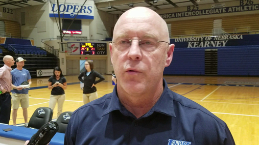 UNK Volleyball Coach Rick Squires