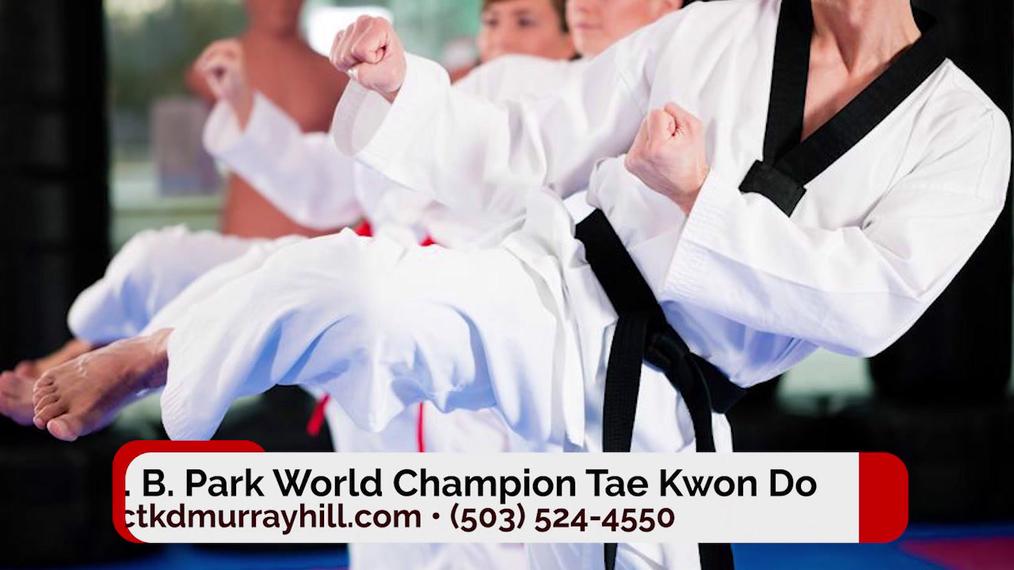 Taekwondo in Tigard OR, J. B. Park World Champion Tae Kwon Do