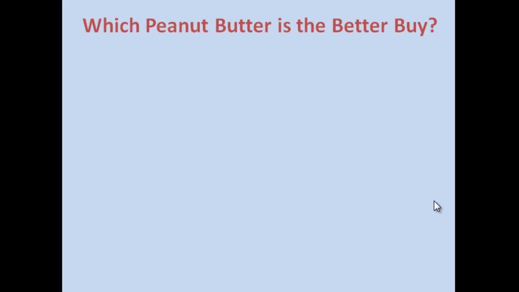 Peanut Butter Comparison.mp4