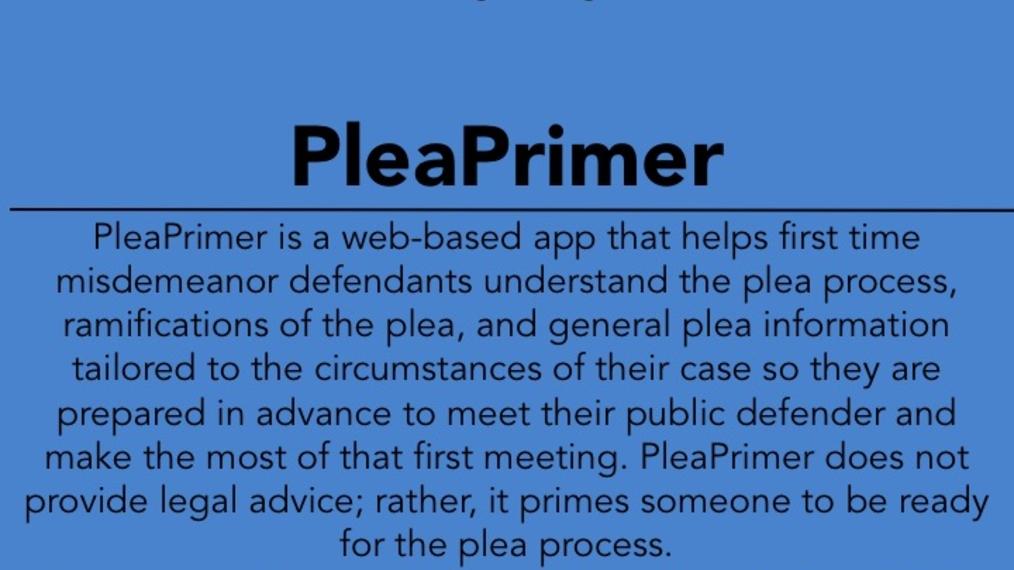 2017 LWOW X POW: Plea Primer