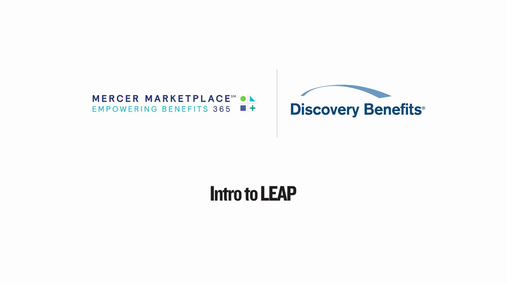 Mercer Marketplace: Intro to LEAP