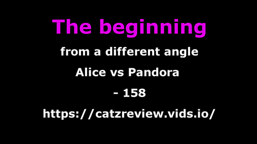 Alice vs Pandora - A different beginning