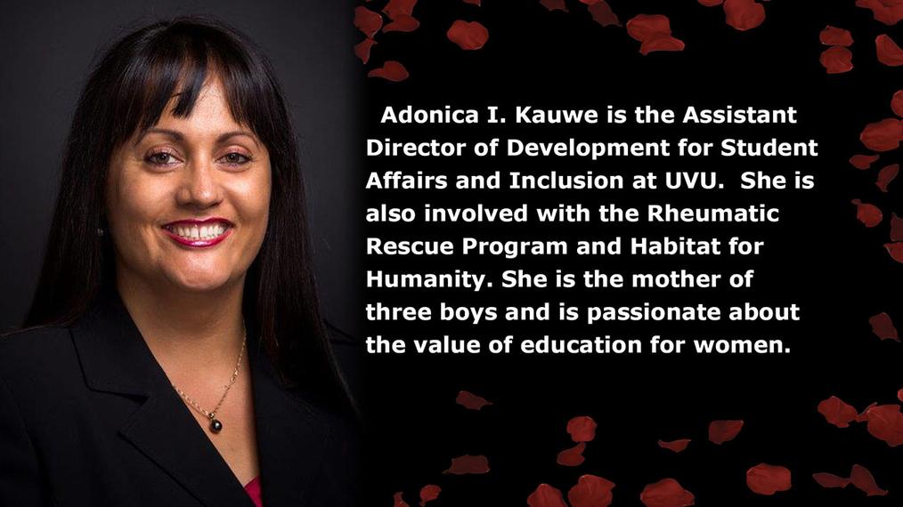 Adonica Kauwe