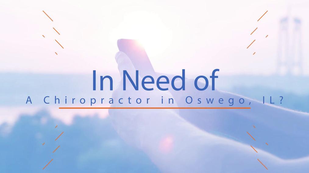 Back Pain in Oswego IL, Oswego Chiropractic