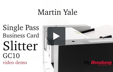 Martin yale single pass business card slitter gc10 transcript this is the martin yale single pass business card slitterthe gc10 colourmoves