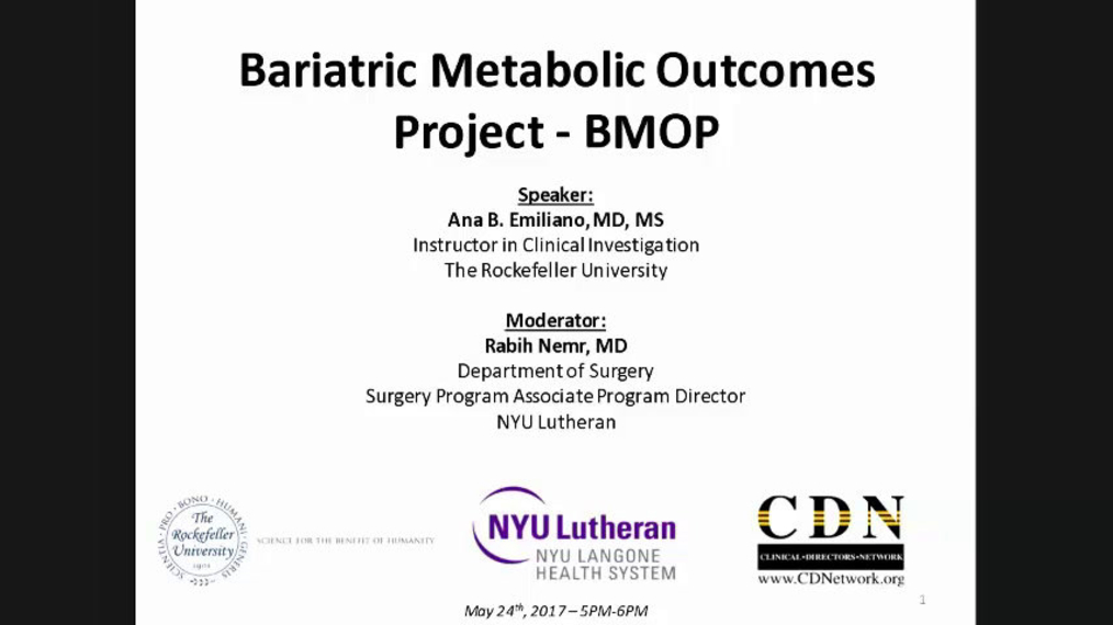 Metabolic Outcomes of Bariatric Surgery