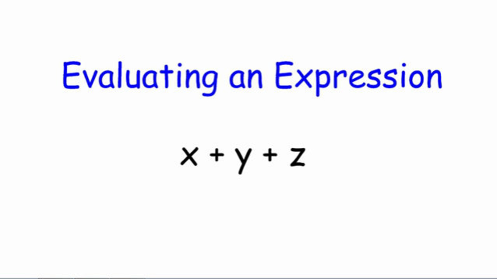 Evaluating Expressions.mp4