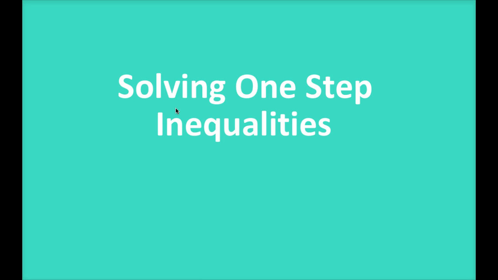 Math 8 Q1 NEW - One Step Inequalities.mp4