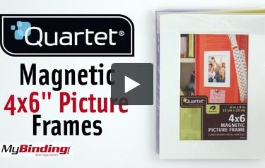 Quartet 4 Quot X 6 Quot Magnetic Picture Frame Assorted 1pk