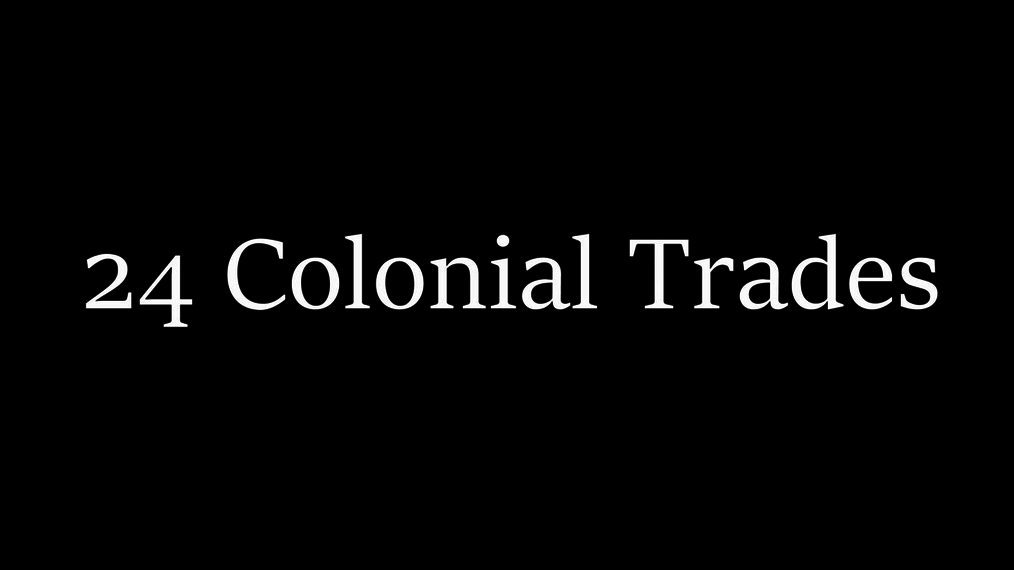 Colonial Trades Song (Gr. 2-8)