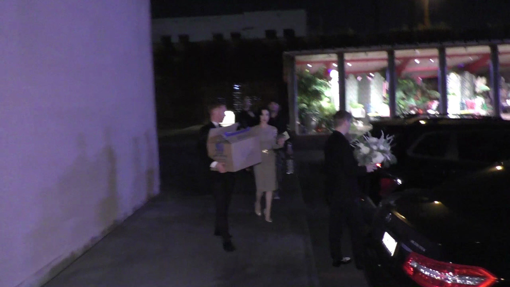 Dita Von Teese outside Maxfield's in West Hollywood.mp4
