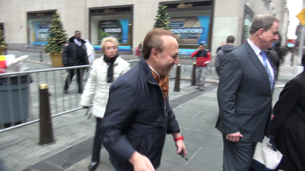 Tommy Mottola promotes 15 - A Quinceañera Story on the Today show in New York City.mp4