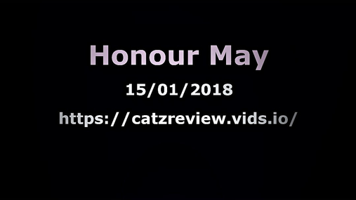 Honour May - No sign of sexual harassment!