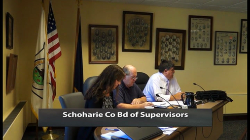 Schoharie Co Bd of Supervisors -- 10th Reg --  20 Oct 2017