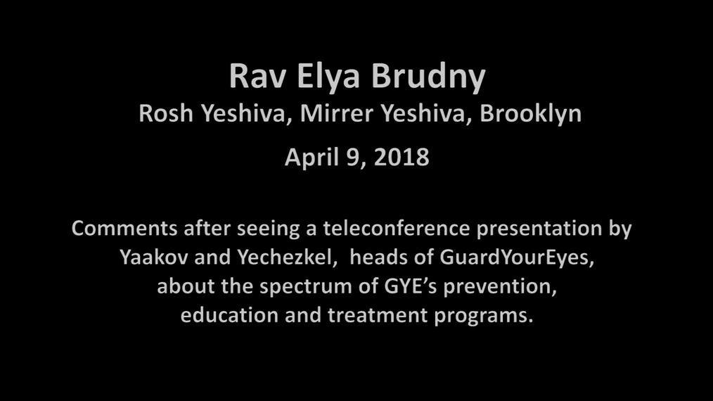 Rav Elya Brudny