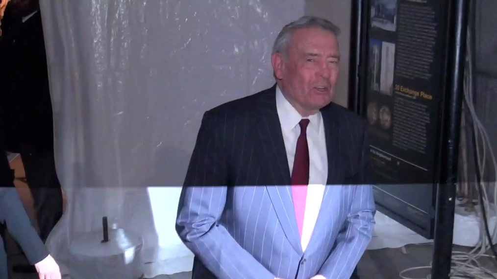 Dan Rather arrives at the 27th Annual IFP Gotham Awards in New York City.mp4