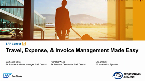Travel & Expense Management Made Easy
