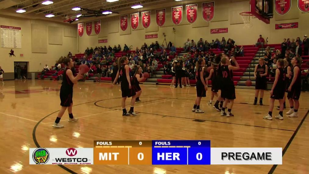 Mitchell Girls Win over Hershey