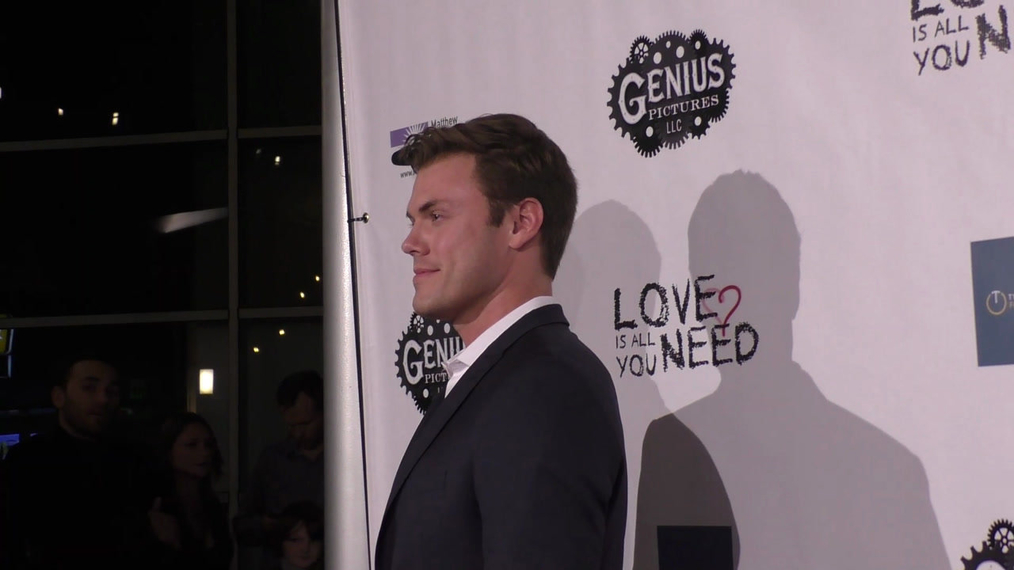 Blake Cooper Griffin at the Premiere Of Love Is All You Need at the ArcLight Theatre in Hollywood.mp4
