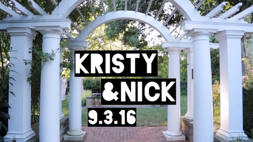 Kristy and Nick