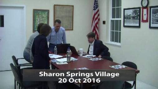 Sharon Springs Village 20 Oct 2016