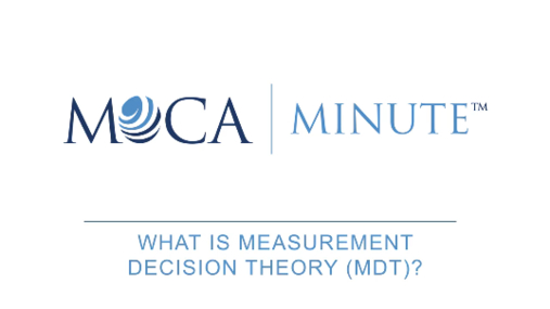 What is Measurement Decision Theory?