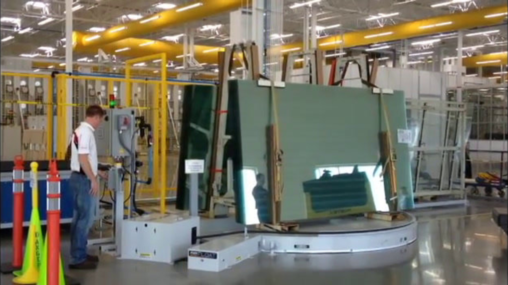 Glass Rack Turntable
