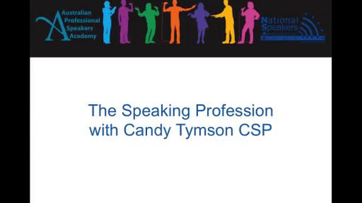National Speakers Academy - The Speaking Profession.mp4